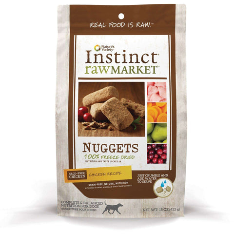 Nature's Variety Freeze Dried Raw Market Chicken Dog Food, Dog Food, Natures Variety - PetMax