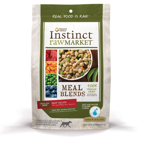 Nature's Variety Freeze Dried Raw Market Beef Dog Food, Dog Food, Natures Variety - PetMax