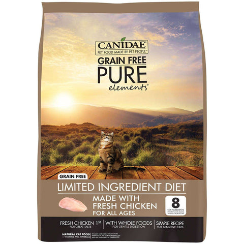Canidae Cat Food Pure Elements Grain Free Chicken, Dry Cat Food, Canidae Pet Foods - PetMax Canada