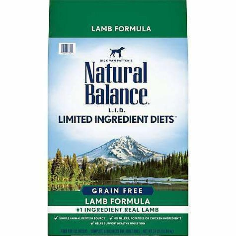 Natural Balance Dog Food L.I.D. Grain Free Lamb  Dog Food - PetMax