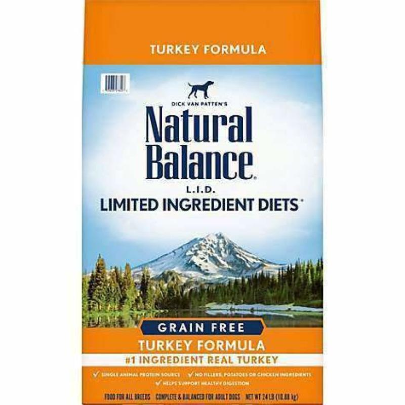 Natural Balance Dog Food L.I.D. Grain Free Turkey | Dog Food -  pet-max.myshopify.com