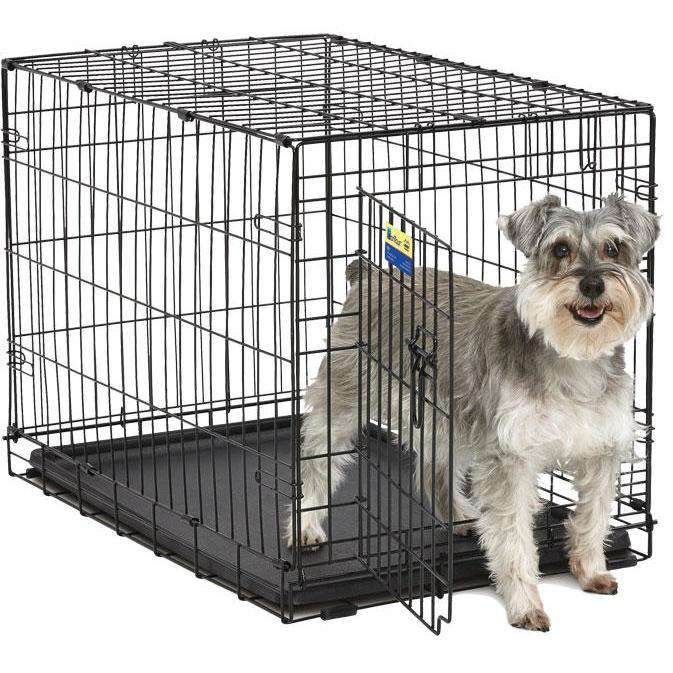 Midwest Contour Double Door Crate, Cages and Kennels, MidWest - PetMax Canada