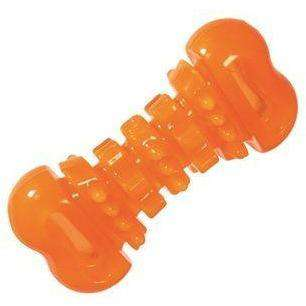 Hero Hard Rubber Chewing Dental Bone, Dog Toys, Manchester Pet Supplies - PetMax Canada