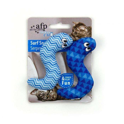 All For Paws Cat Toy Surf Snake 2 Pack