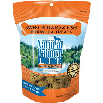 Natural Balance Dog Treats L.I.T. Potato & Fish  Dog Treats - PetMax