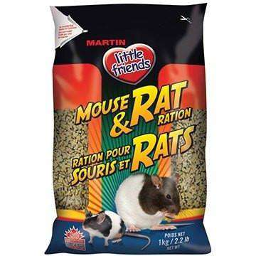 Martins Little Friends Mouse & Rat Rations, Small Animal Food Dry, Martin Mills - PetMax