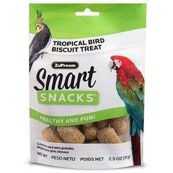 Zupreem Smart Snacks Tropical Bird Biscuits, Bird Treats, Zupreem Premium Nutritional Product - PetMax