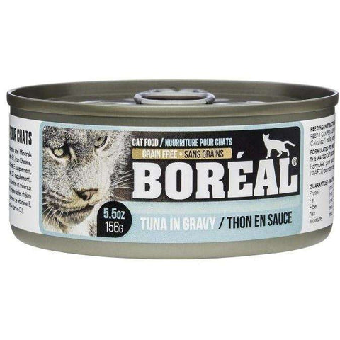 Boreal Cat Canned Food Tuna Red Meat In Gravy, Canned Cat Food, Boreal Pet Food - PetMax