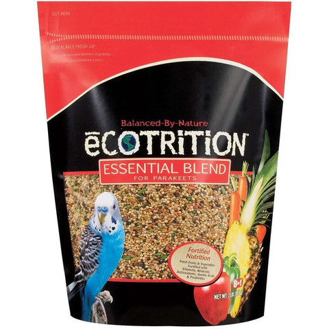 8 In 1 Ecotrition Parakeet Blend Diet, Bird Food, 8 in1 Pet Products, Inc. - PetMax Canada