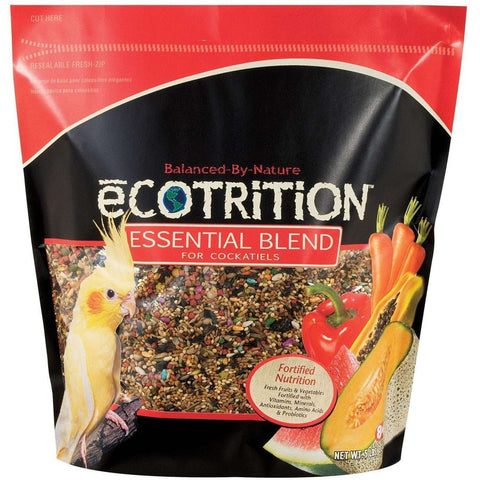 8 In 1 Ecotrition Cockatiel Blend Diet, Bird Food, 8 in1 Pet Products, Inc. - PetMax Canada