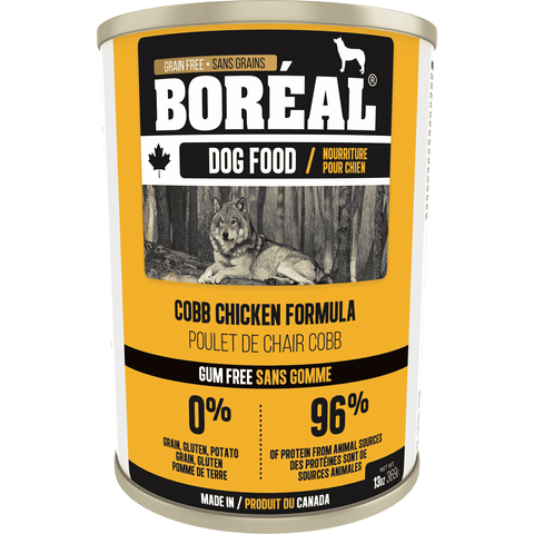 Boreal Canned Dog Food Cobb Chicken, Canned Dog Food, Boreal Pet Food - PetMax Canada