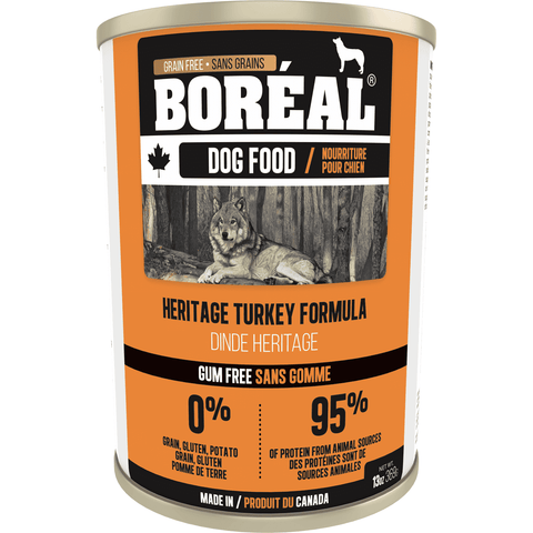 Boreal Canned Dog Food Heritage Turkey, Canned Dog Food, Boreal Pet Food - PetMax Canada