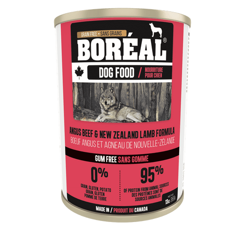 Boreal Canned Dog Food Angus Beef & New Zealand Lamb, Canned Dog Food, Boreal Pet Food - PetMax Canada