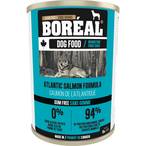 Boreal Canned Dog Food Atlantic Salmon, Canned Dog Food, Boreal Pet Food - PetMax Canada