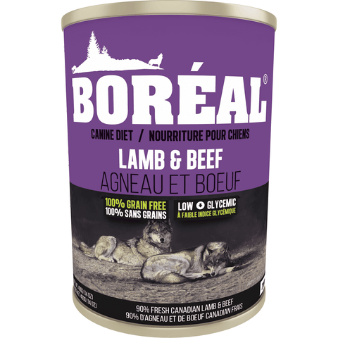Boreal Canned Dog Food Adult Lamb & Beef, Canned Dog Food, Boreal Pet Food - PetMax Canada