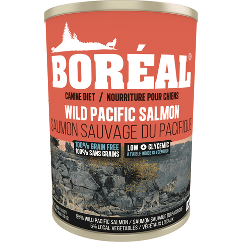 Boreal Canned Dog Food Adult Wild Salmon, Canned Dog Food, Boreal Pet Food - PetMax Canada