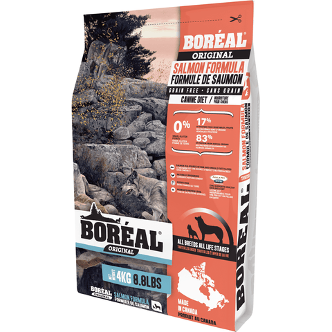 Boreal Dog Food Grain Free Adult Wild Salmon, Dog Food, Boreal Pet Food - PetMax Canada
