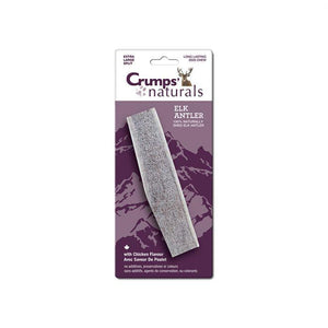 Crumps Naturals Split Elk Antler Chicken Flavour | Chew Products -  pet-max.myshopify.com