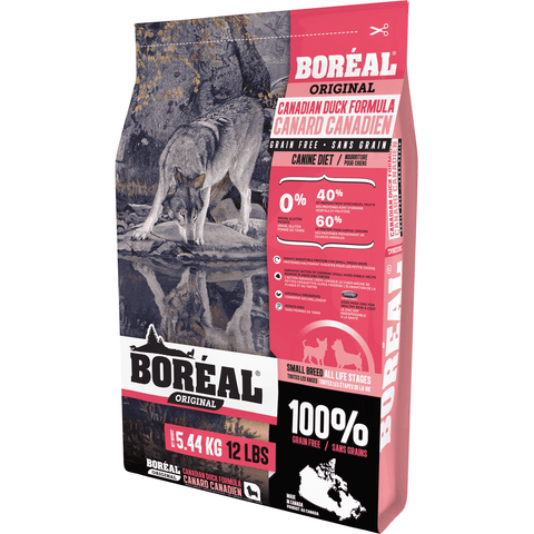 Boreal Dog Food Grain Free Small Breed Duck, Dog Food, Boreal Pet Food - PetMax Canada