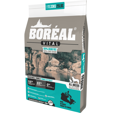 Boreal Vital Grain Free Chicken Dog Food, Dog Food, Boreal Pet Food - PetMax Canada