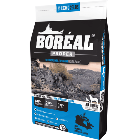 Boreal Dog Food Proper Oceanfish, Dog Food, Boreal Pet Food - PetMax Canada