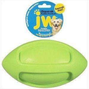 JW iSqueak Fumble Football, Dog Toys, JW Pet Company - PetMax Canada