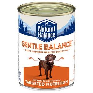Natural Balance Canned Dog Food Targeted Nutrition Gentle Balance  Canned Dog Food - PetMax