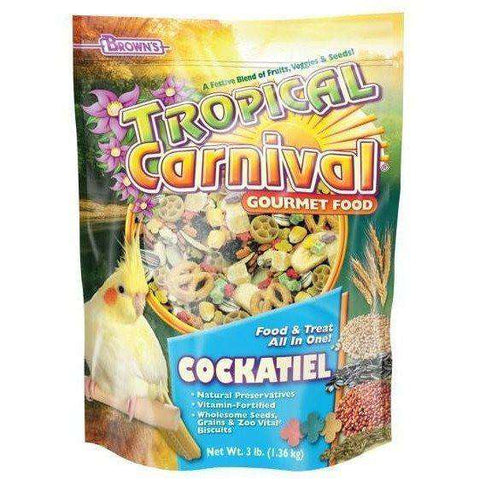 Brown's Tropical Carnival Cockatiel Food, Bird Food, F.M. Bown's Sons Inc. - PetMax