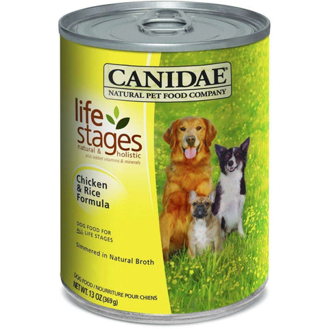 Canidae Canned Dog Food Chicken & Rice, Canned Dog Food, Canidae Pet Foods - PetMax Canada