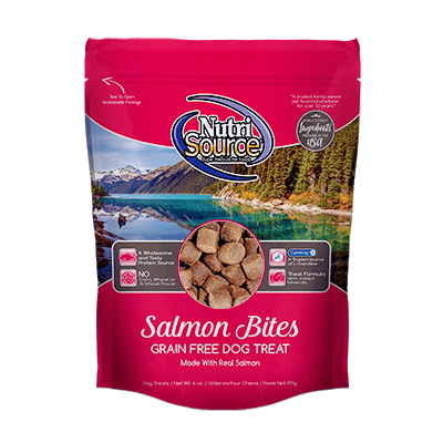 Nutri Source Grain Free Treats Salmon  Dog Treats - PetMax