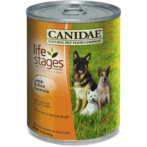 Canidae Canned Dog Food Lamb And Rice, Canned Dog Food, Canidae Pet Foods - PetMax