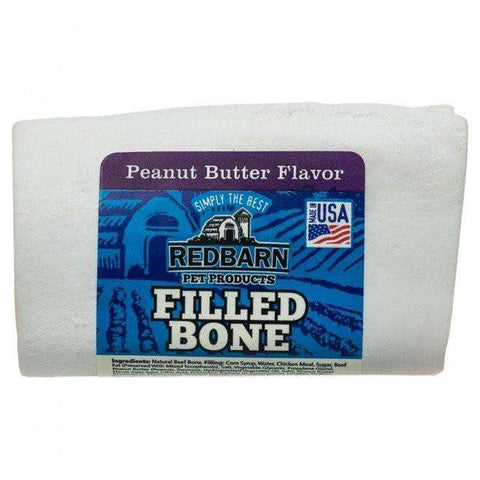 Red Barn Filled Bone Peanut Butter Small