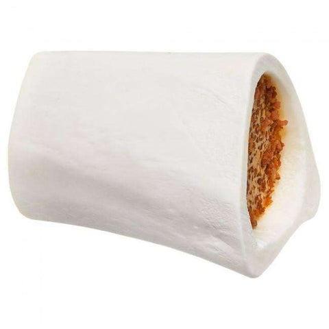 Red Barn Filled Bone Cheese N'Bacon Small, Chew Products, Red Barn Pet Products - PetMax Canada