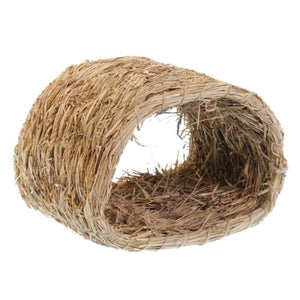 Marshall's Rabbit Woven Grass Hide A Way Hut  Small Animal Houses - PetMax