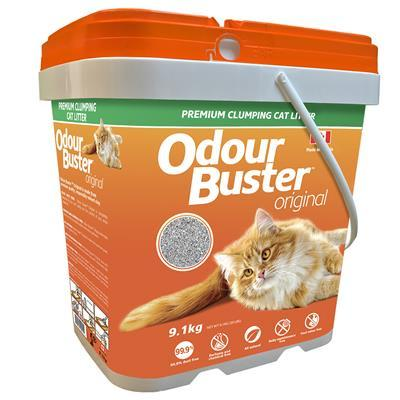 Odour Buster Clumping Cat Litter Pail  Cat Litter - PetMax