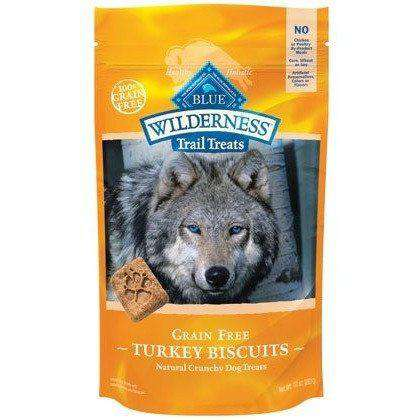 Blue Buffalo Wilderness Dog Treats Turkey & Chicken  Dog Treats - PetMax
