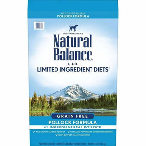 Natural Balance Dog Food L.I.D. Grain Free Pollock | Dog Food -  pet-max.myshopify.com