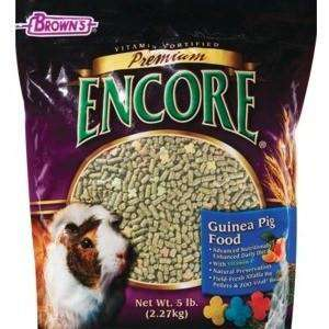 Brown's Premium Encore Guinea Pig Food, Small Animal Food Dry, F.M. Bown's Sons Inc. - PetMax