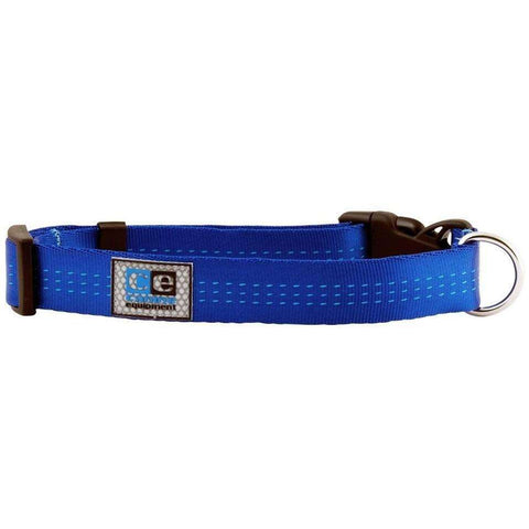 Canine Equipment Utility Clip Collar Blue, Dog Collars, RC Pet Products - PetMax Canada
