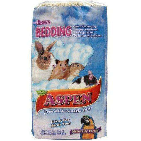 Brown's Naturally Fresh Aspen Bedding, Small Animal Litter, F.M. Bown's Sons Inc. - PetMax Canada