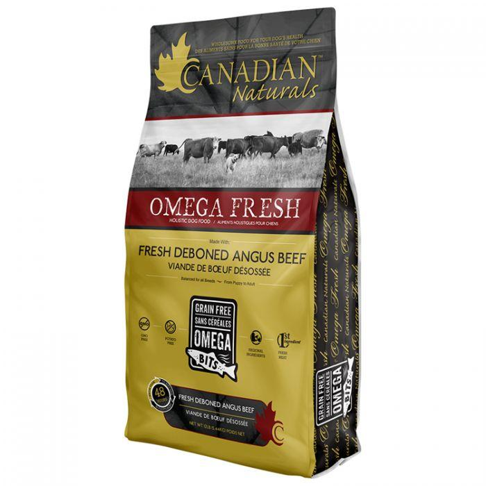 Canadian Naturals Dog Food Omega Fresh Angus Beef | Dog Food -  pet-max.myshopify.com