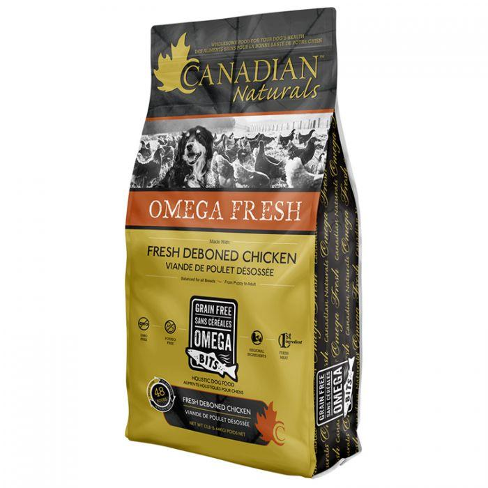 Canadian Naturals Dog Food Omega Fresh Chicken | Dog Food -  pet-max.myshopify.com
