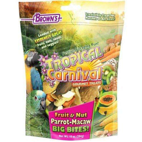 Brown's Extreme Parrot Fruit N Nut Big Bites, Bird Treats, F.M. Bown's Sons Inc. - PetMax