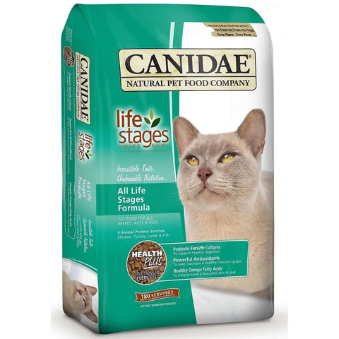 Canidae Cat Food All Life Stages, Dry Cat Food, Canidae Pet Foods - PetMax Canada