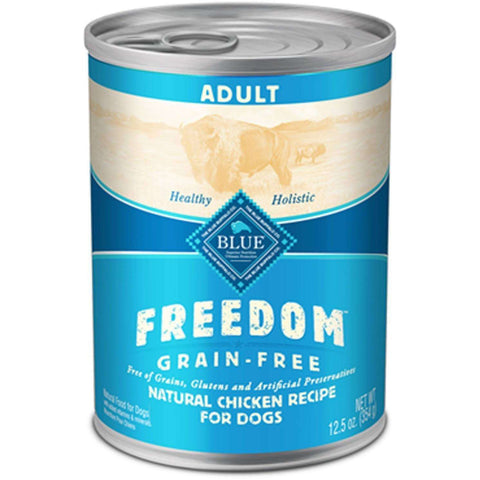 Blue Freedom Canned Dog Food Adult Chicken, Canned Dog Food, Blue Buffalo Company - PetMax
