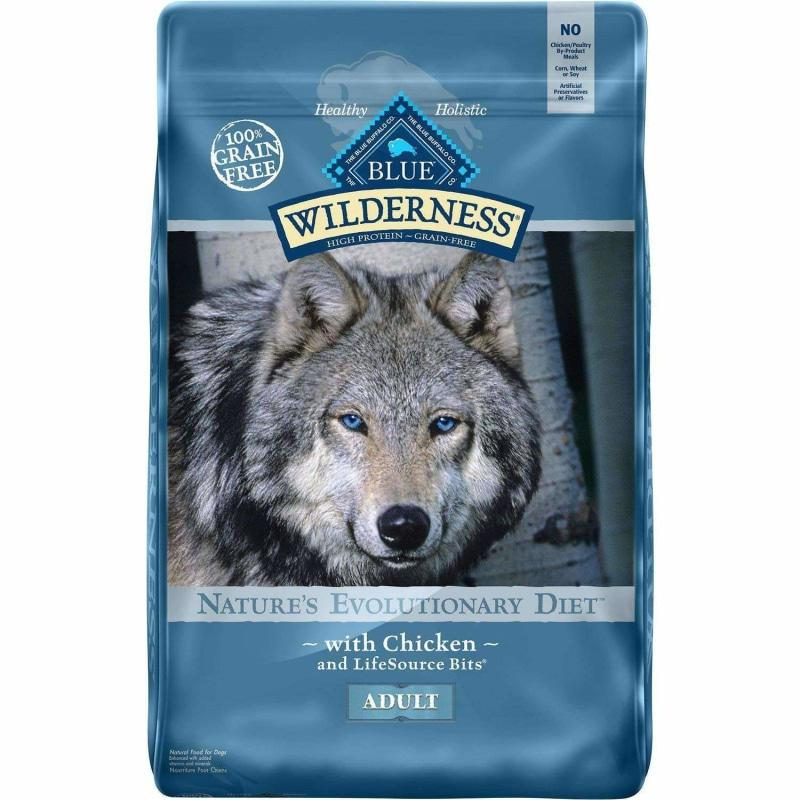 Blue Buffalo Wilderness Dog Food Chicken Formula  Dog Food - PetMax