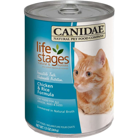 Canidae Canned Cat Food Chicken & Rice, Canned Cat Food, Canidae Pet Foods - PetMax
