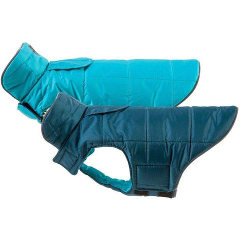 RC Skyline Puffy Dog Vest Blue/Teal, Dog Clothing, RC Pet Products - PetMax