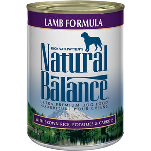 Natural Balance Canned Dog Food Lamb  Canned Dog Food - PetMax