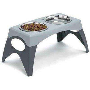 Bergan Elevated Stand Diner  Dog Dishes - PetMax